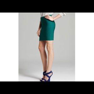 BCBGMAXAZRIA Simone Textured Power Skirt